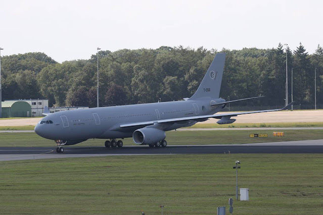 Airbus A330 tanker Eindhoven