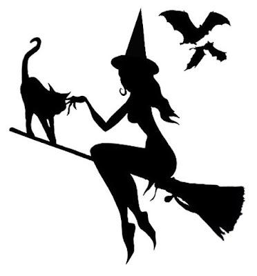 -Siluetas brujas halloween