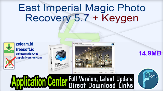 East Imperial Magic Photo Recovery 5.7 + Keygen_ ZcTeam.id