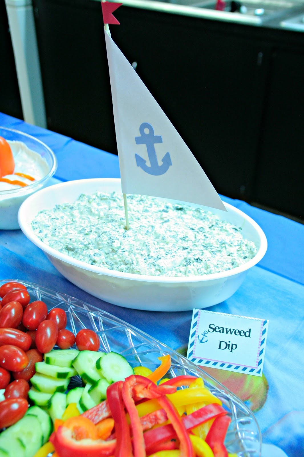 Ahoy! It's A Boy! Nautical Baby Shower #OrientalTrading ...