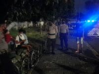 Polsek Kraton Gelar Imbauan Prokes di Alun-alun Selatan Yogyakarta