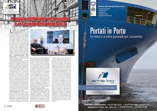 MARZO 2021 PAG. 12 - Il posto dell'Italia nel mondo e il secolo della logistica
