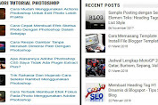 Membuat Widget Auto Scroll & Thumbnails Recent Posts Blogger