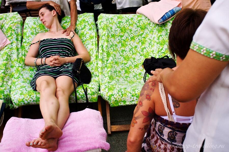 Виды массажа в Тае