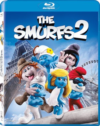 The Smurfs 2011 Dual Audio [Hindi English] BRRip 480p 300mb