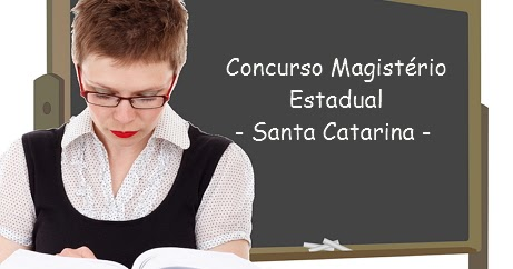 Concurso p blico professor estadual santa catarina for Concurso profesor