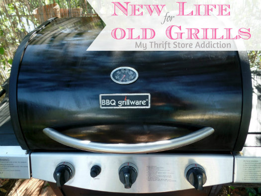 Repair an outdoor grill