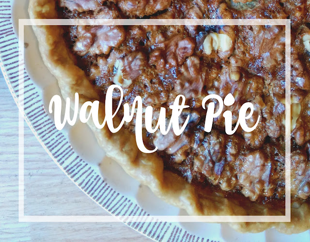 How to make a walnut pie recipe @melissakaylene