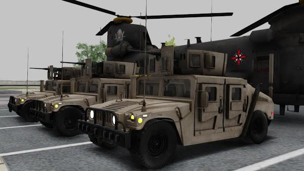 AM GENERAL HUMVEE M1151 IRAQ ARMY