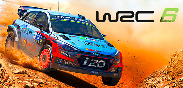 WRC 6 FIA World Rally Championship - PC - Portada
