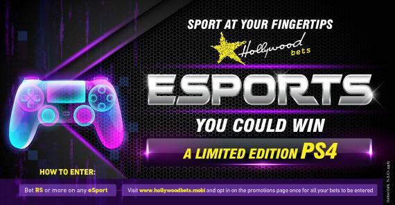 Hollywoodbets eSports Promotion