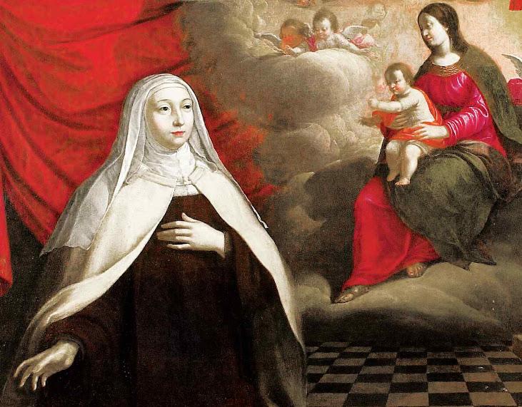 Beata Maria da Encarnação OCD, trouxe a reforma do Carmelo à França