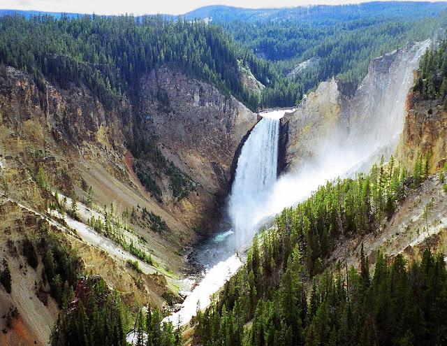 Yellowstone Park Falls