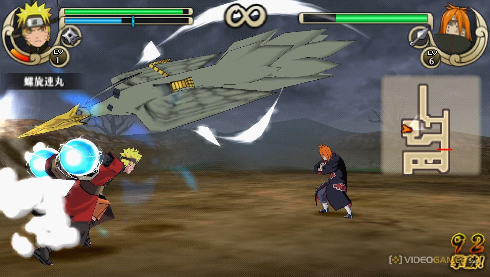 download game naruto shippuden ultimate ninja impact ppsspp pc