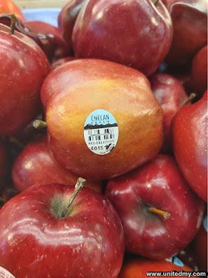 Chelan Apple USA to Malaysia