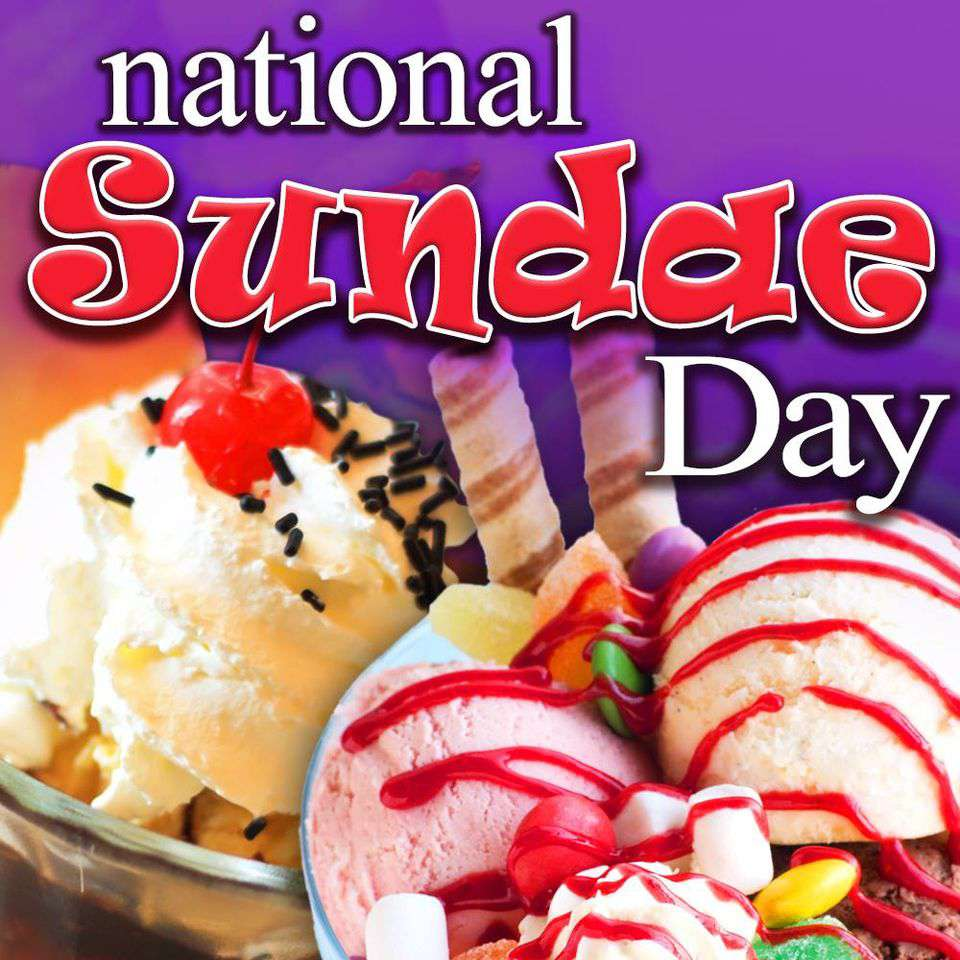 National Sundae Day Wishes pics free download