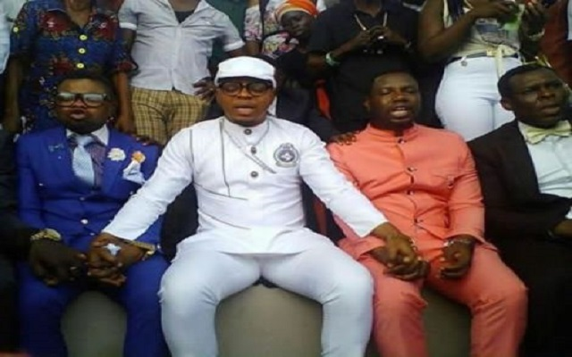 [Video] Bishop Obinim And Okomfo Appiah In Spiritual Contest
