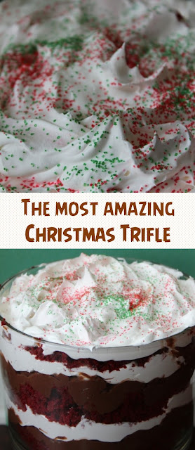 The most amazing Christmas Trifle