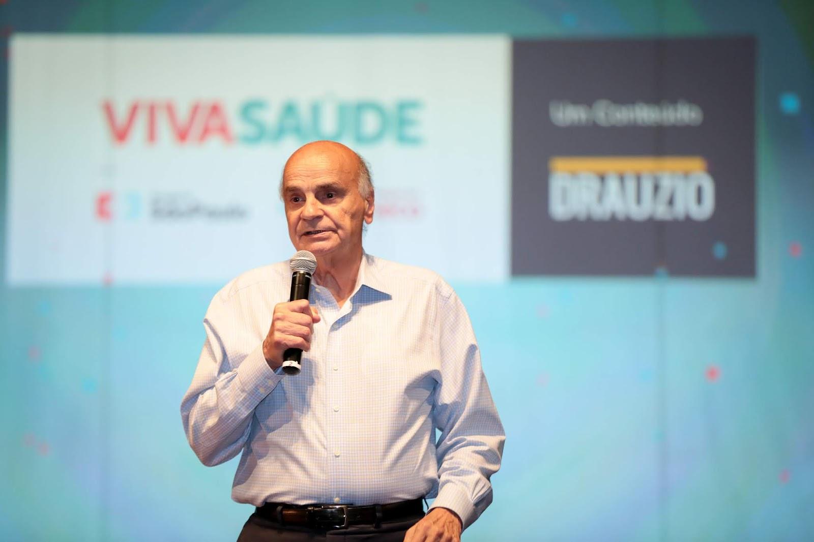 Dr. Drauzio Varella faz palestra gratuita no Conjunto Nacional