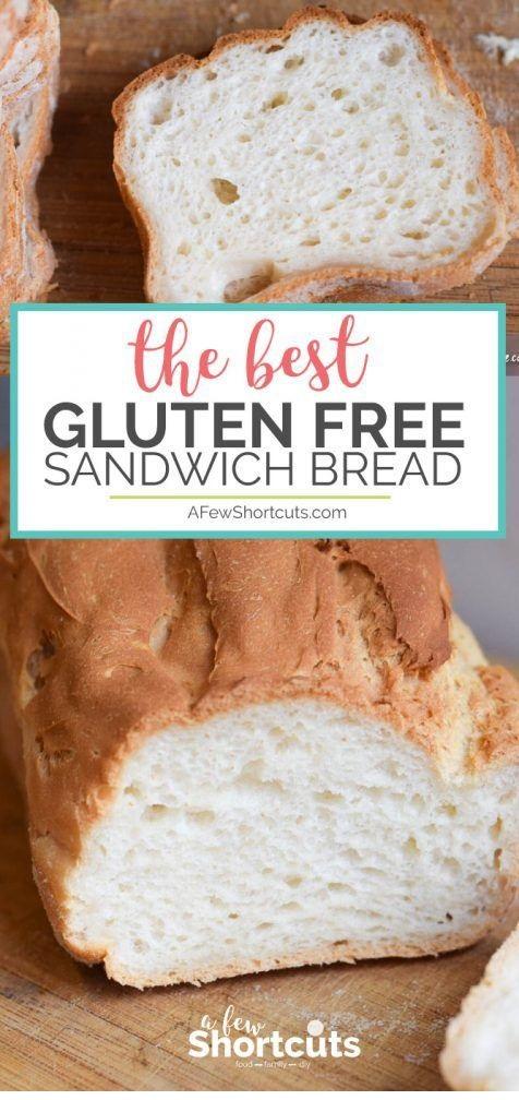 The Best Gluten Free Sandwich Bread