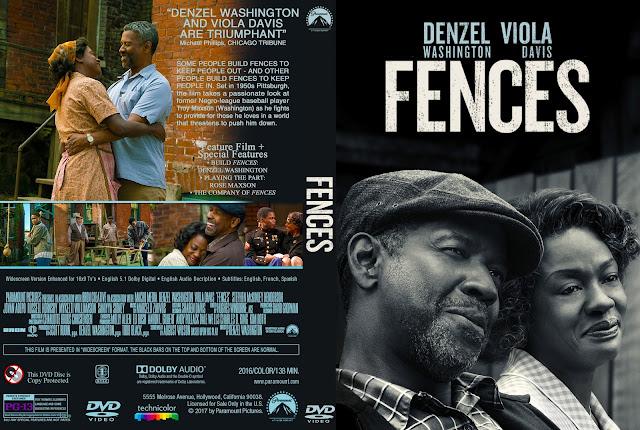 Fences DVD Cover