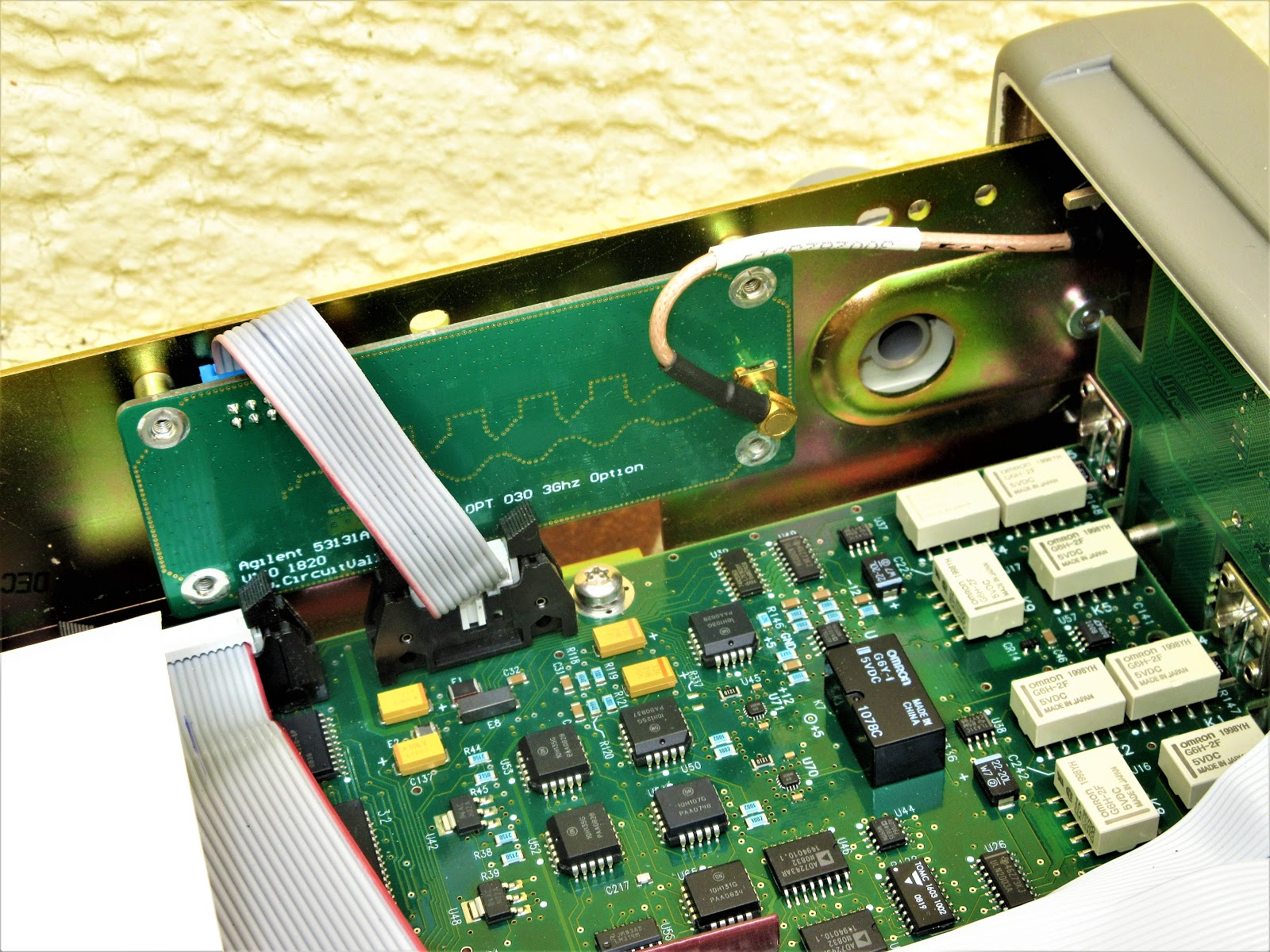 Embedded Engineering Agilent 53132a 53131a Diy Open Source 3ghz Electronic Circuit Design Here Is How Board Looks