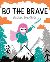 bo the brave by bethan woollvin book cover
