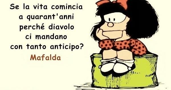 Anniversario Di Matrimonio Vignette.Mafalda Immagini Divertenti