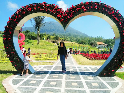 Nyoman Misnawati blooms garden
