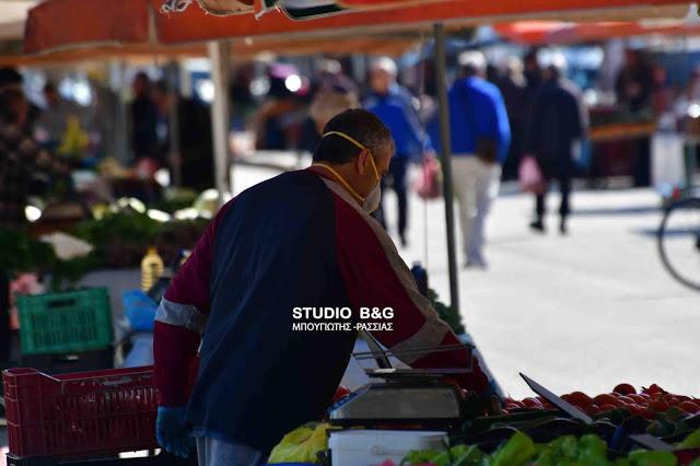 Ποιοι πωλητές θα στήσουν πάγκο την Τετάρτη στην λαϊκή του Ναυπλίου (λίστα)
