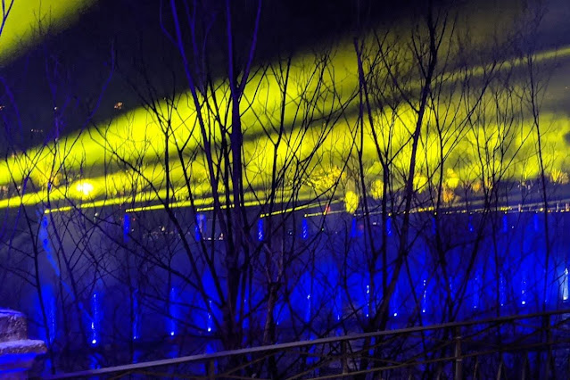 Things to do in Innsbruck in winter: Lightshow on the River Inn for New Year's Eve