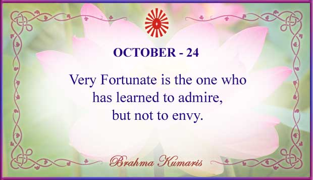 Thought For The Day October 24