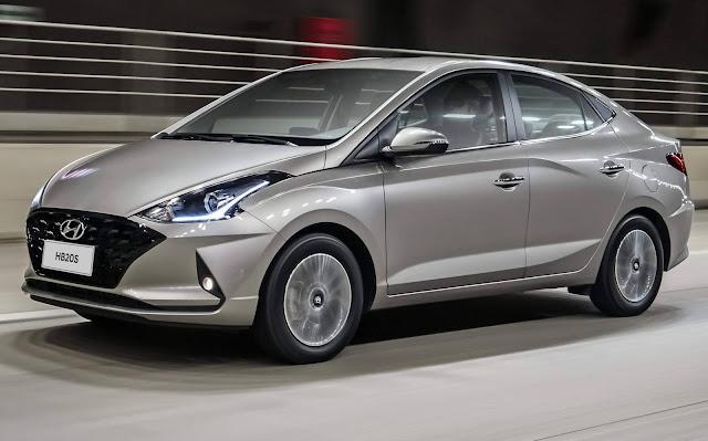 Novo Hyundai HB20S 2021 1.0 Turbo Automático