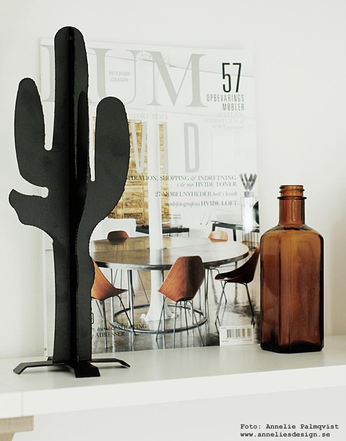 kaktus, kaktusar, inredning, design, annelie palmqvist, designade produkter, inredningsdetaljer, detaljer, dekoration, prydnad, prydnadskaktus, webbutik, webbutiker, webshop, nettbutikk, nettbutikker, nätbutik, nätbutiker, vardagsrum, vardagsrummet, hylla, hyllor, soffa, svart och vitt, svartvit, svartvita,