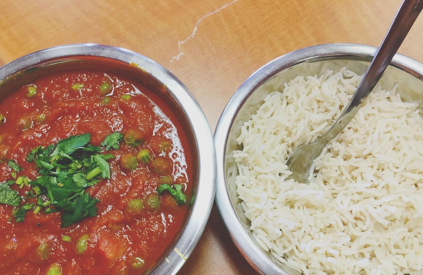 aloo matar at Curry Sultan - an Indian Restaurant near Houston, Texas