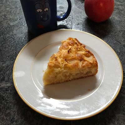 Part gâteau norvégien aux pommes