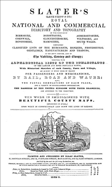 Slater's Royal National and Commercial Directory and Topography