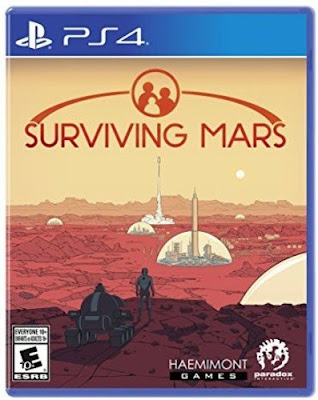 Surviving Mars Game Cover PS4