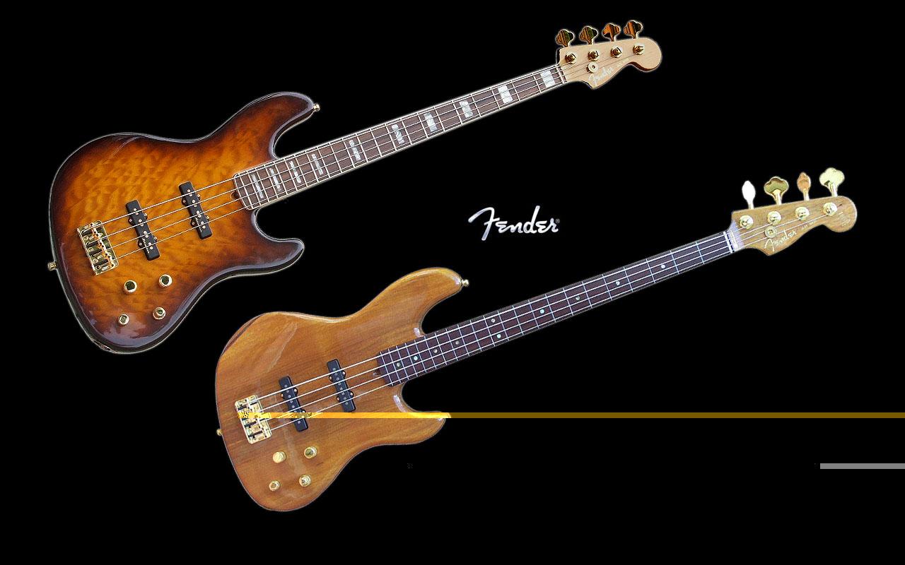 Guitar Wallpaper Fender Bass Wallpaper