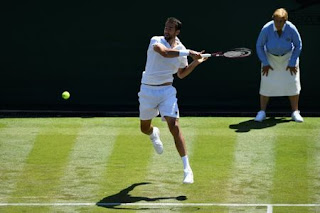 Cilic makes solid start at Wimbledon