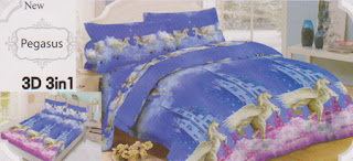 Sprei Lady Rose Pegasus