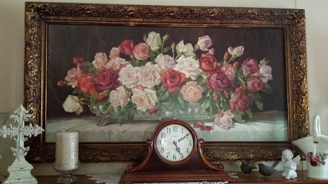 Vintage Rose Painting, Living From Glory To Glory Blog...
