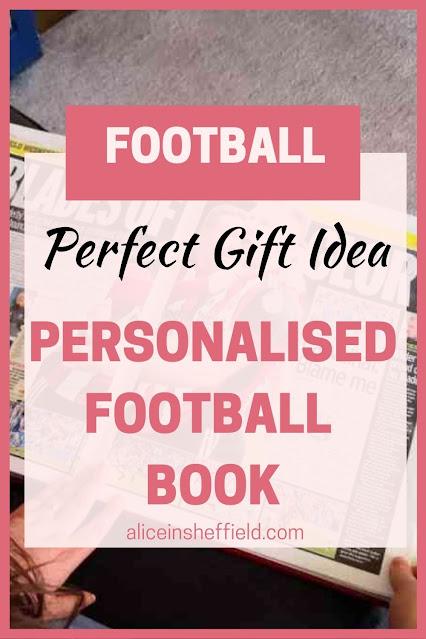 Personalised Football Book