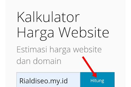 Cara Cek harga jual domain website