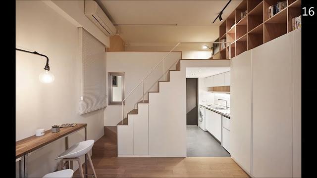 apartamento pequeno com mezanino-kitnet89