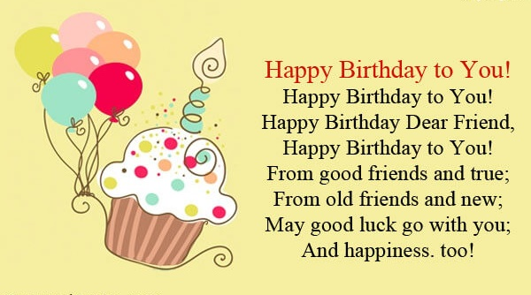 Birthday wish for best friend quotes