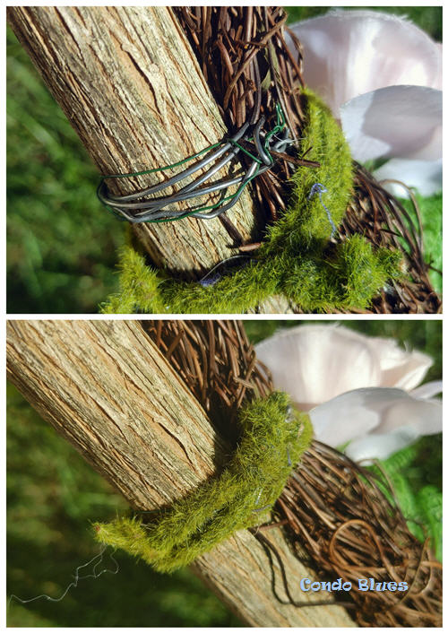 how to decorate a walking stick
