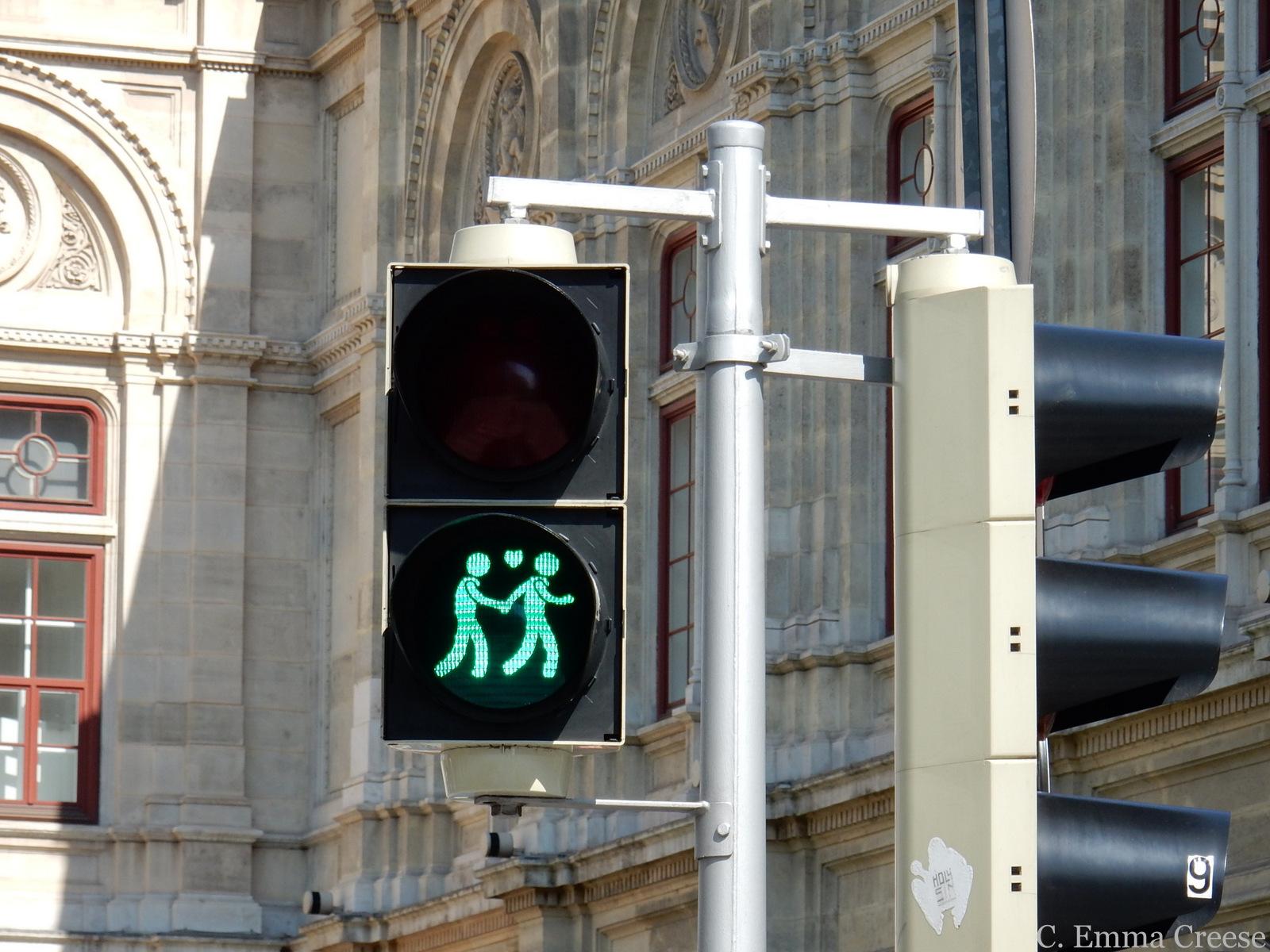 Vienna Traffic Lights Adventures of a London Kiwi