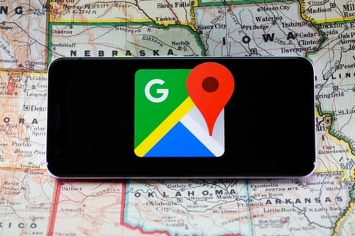 With Google Maps, you can make calls and listen to music