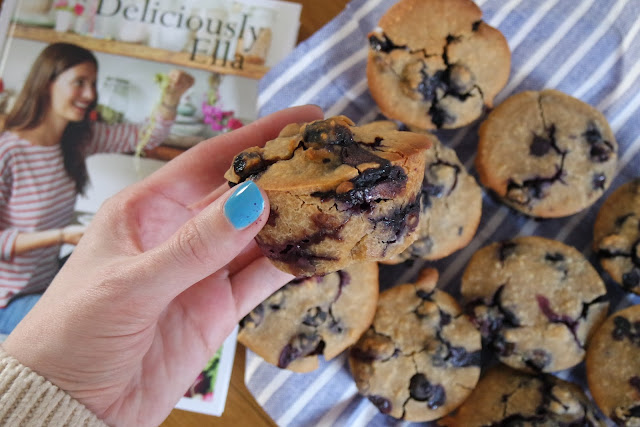 Deliciously Ella Blueberry Muffins